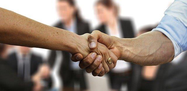 image d'un partenariat
